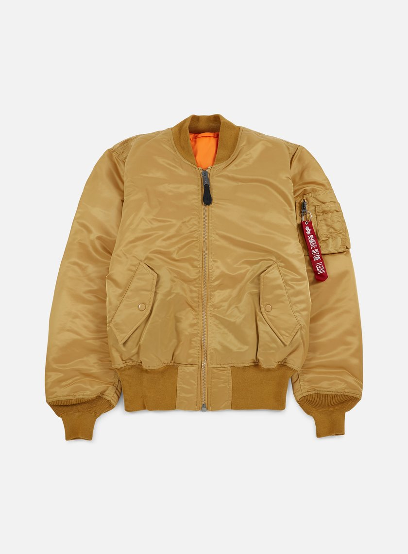 Alpha Industries - MA-1 Flight Jacket, Gold