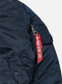 Alpha Industries - MA-1 Flight Jacket, Replica Blue 3