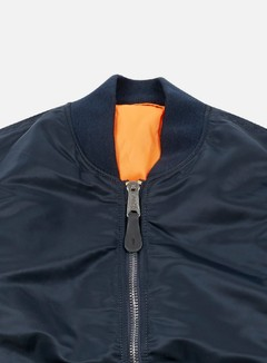 Alpha Industries - MA-1 Flight Jacket, Replica Blue 5
