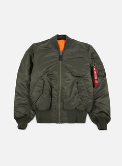Alpha Industries - MA-1 Flight Jacket, Replica Grey 1
