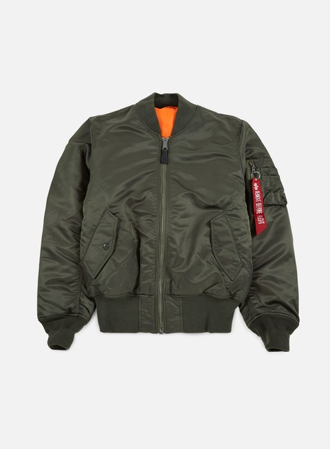 giacche alpha industries ma 1 flight jacket replica grey