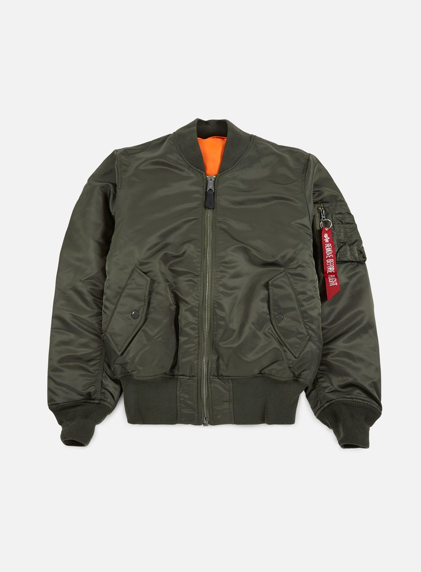 Alpha Industries - MA-1 Flight Jacket, Replica Grey