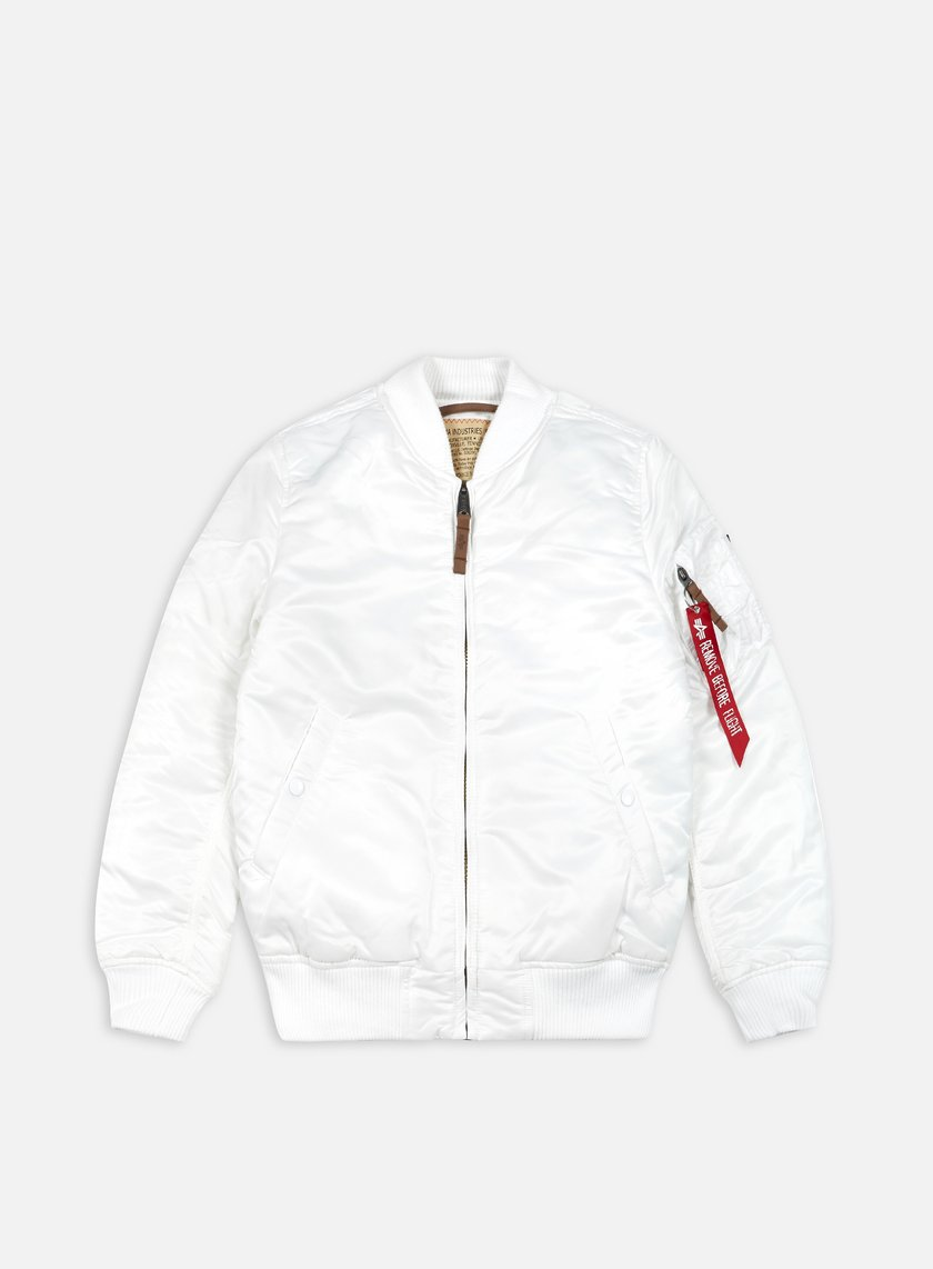 Alpha Industries - MA-1 Flight Jacket Slim, White