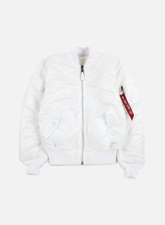 Alpha Industries - MA-1 Flight Jacket, White 1