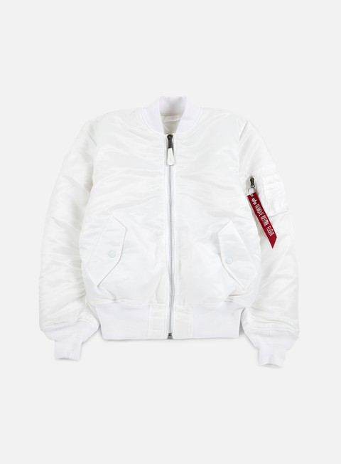 giacche alpha industries ma 1 flight jacket white