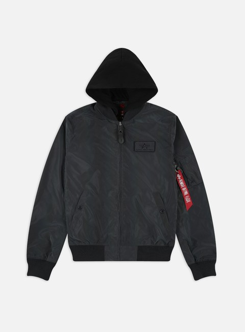 Alpha Industries MA-1 LW HD Rainbow Reflective Jacket