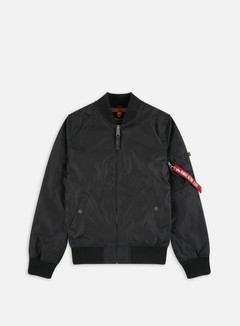 Alpha Industries - MA-1 TT Flight Jacket, Black