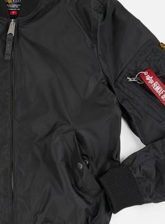 Alpha Industries - MA-1 TT Flight Jacket, Black 6