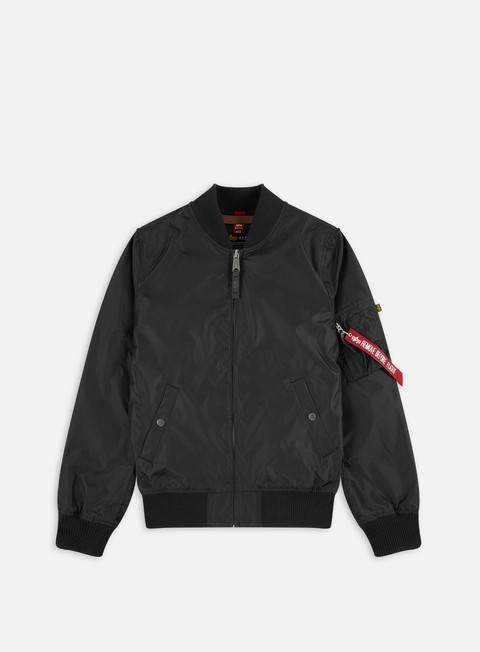 giacche alpha industries ma 1 tt flight jacket black