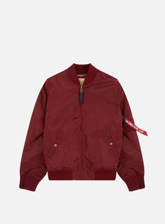Alpha Industries - MA-1 TT Flight Jacket, Burgundy 1