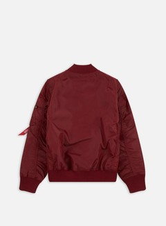 Alpha Industries - MA-1 TT Flight Jacket, Burgundy 3