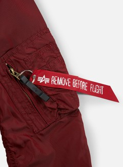 Alpha Industries - MA-1 TT Flight Jacket, Burgundy 5