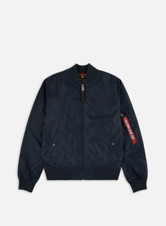 Alpha Industries - MA-1 TT Flight Jacket, Replica Blue