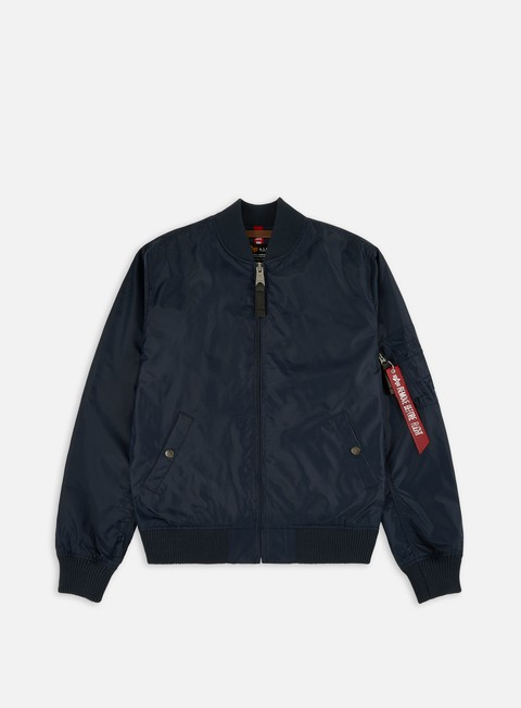 giacche alpha industries ma 1 tt flight jacket replica blue