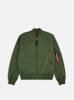 Alpha Industries - MA-1 TT Flight Jacket, Sage Green 1