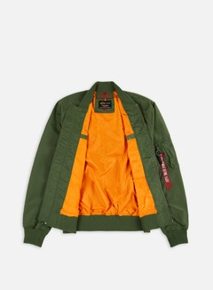 Alpha Industries - MA-1 TT Flight Jacket, Sage Green 2