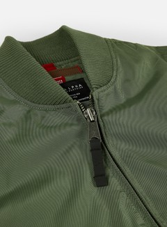 Alpha Industries - MA-1 TT Flight Jacket, Sage Green 4