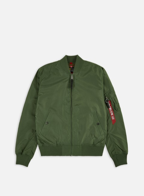 giacche alpha industries ma 1 tt flight jacket sage green