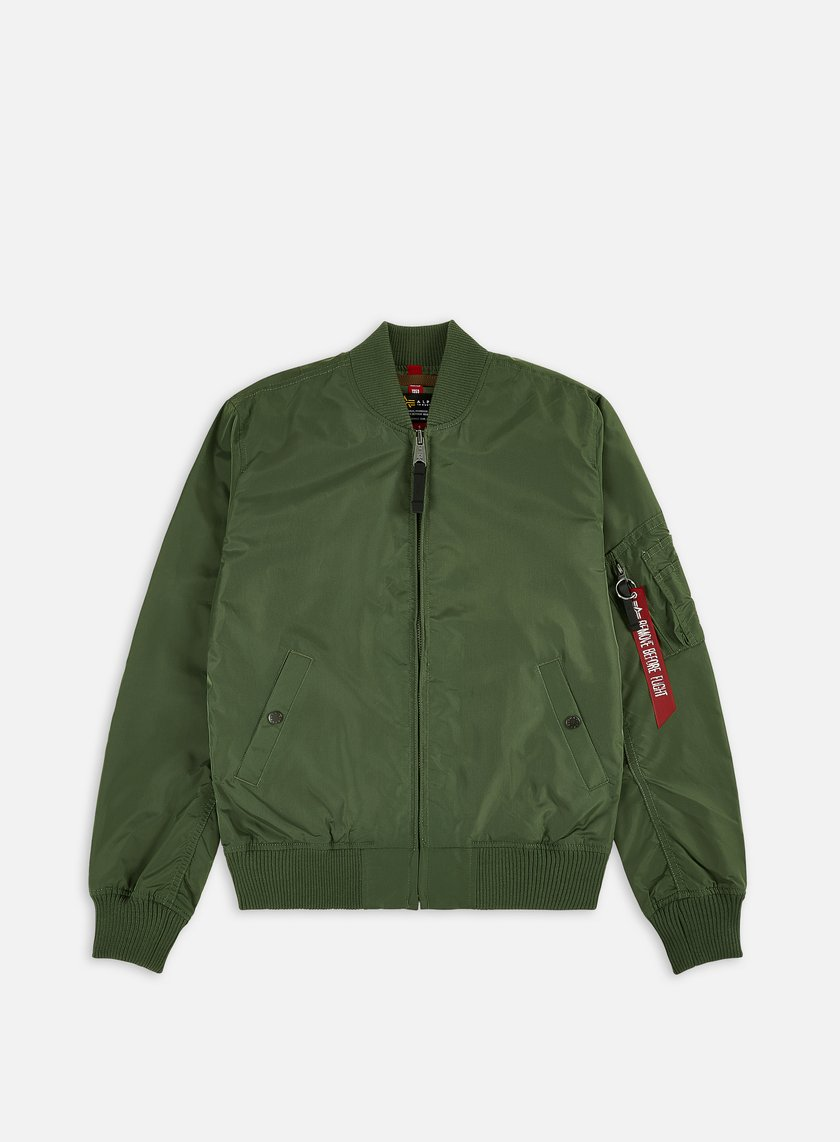 Alpha Industries - MA-1 TT Flight Jacket, Sage Green
