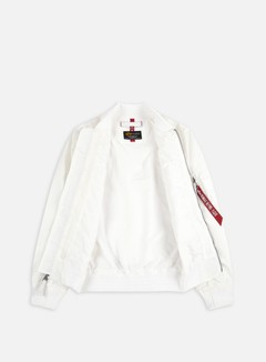 Alpha Industries - MA-1 TT Flight Jacket, White 2