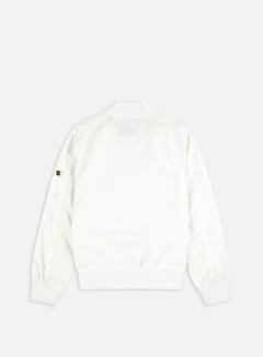 Alpha Industries - MA-1 TT Flight Jacket, White 3