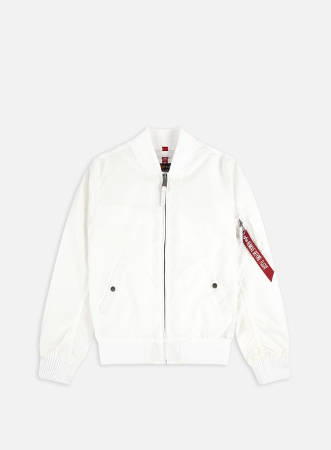 giacche alpha industries ma 1 tt flight jacket white