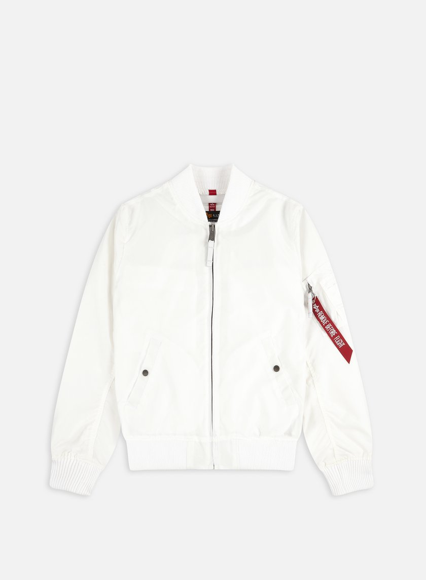 Alpha Industries - MA-1 TT Flight Jacket, White
