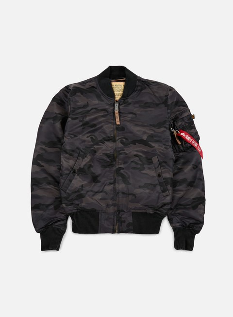 Bomber Alpha Industries MA-1 VF 59 Camouflage Flight Jacket