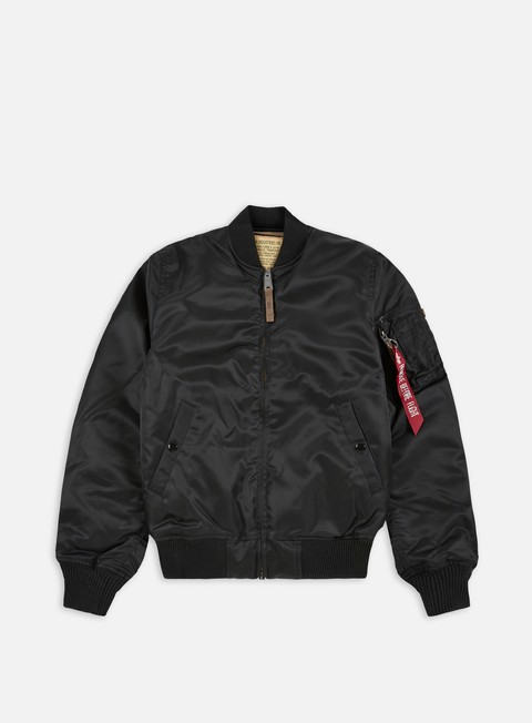 giacche alpha industries ma 1 vf 59 flight jacket black
