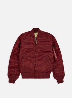 Alpha Industries - MA-1 VF 59 Flight Jacket, Burgundy