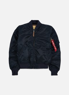 Alpha Industries - MA-1 VF 59 Flight Jacket, Replica Blue 1