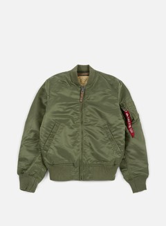 Alpha Industries - MA-1 VF 59 Flight Jacket, Sage Green 1