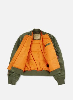 Alpha Industries - MA-1 VF 59 Flight Jacket, Sage Green 2