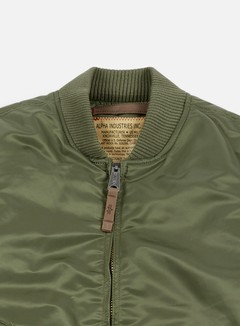Alpha Industries - MA-1 VF 59 Flight Jacket, Sage Green 4
