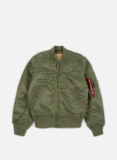 giacche alpha industries ma 1 vf 59 flight jacket sage green