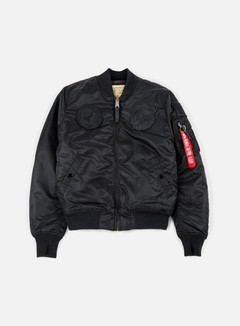 Alpha Industries - MA-1 VF 59 NASA Flight Jacket, All Black