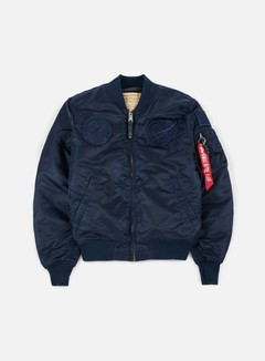 Alpha Industries - MA-1 VF 59 NASA Flight Jacket, All Replica Blue