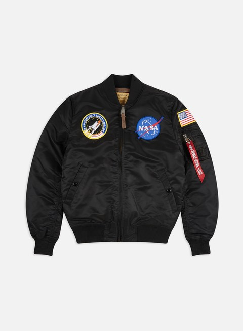 giacche alpha industries ma 1 vf 59 nasa flight jacket black