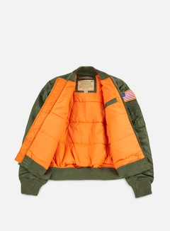 Alpha Industries - MA-1 VF 59 NASA Flight Jacket, Sage Green 2