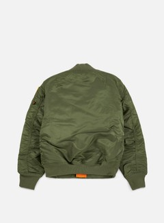 Alpha Industries - MA-1 VF 59 NASA Flight Jacket, Sage Green 3