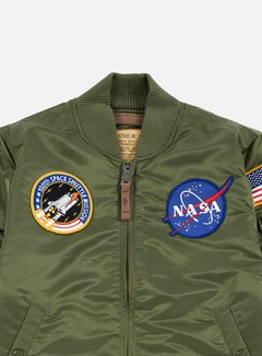 Alpha Industries - MA-1 VF 59 NASA Flight Jacket, Sage Green 4