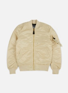 Alpha Industries - MA-1 VF LW Flight Jacket, Caramel 1