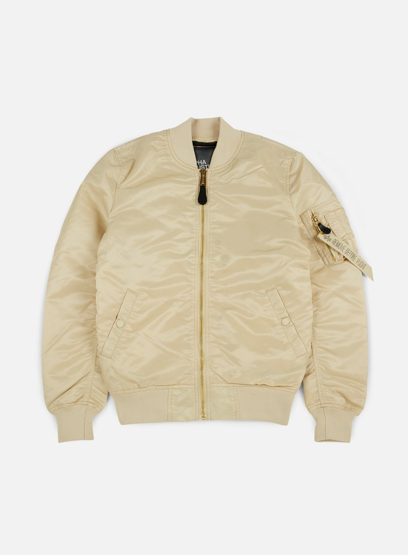 Alpha Industries - MA-1 VF LW Flight Jacket, Caramel