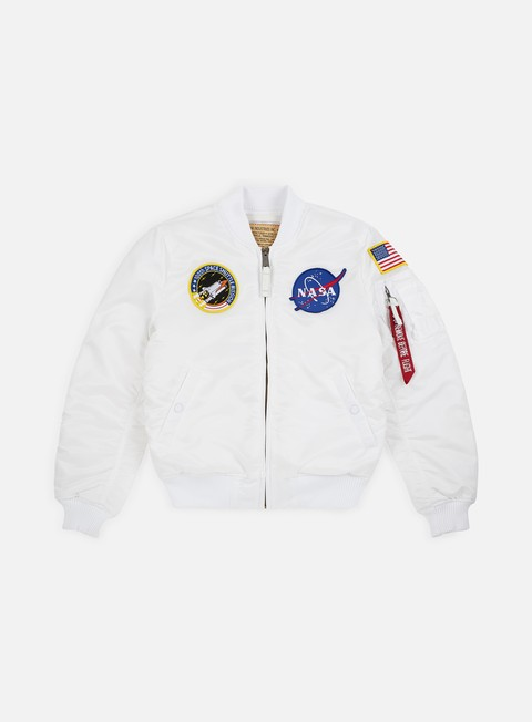 Outlet e Saldi Giacche Intermedie Alpha Industries MA-1 VF NASA Flight Jacket
