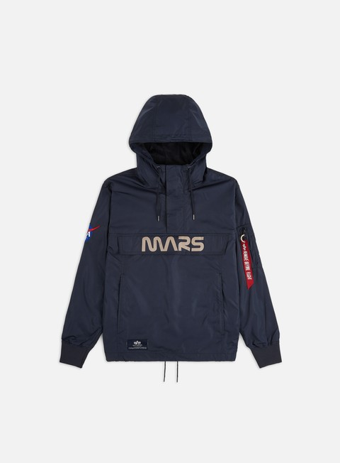 Outlet e Saldi Giacche Leggere Alpha Industries Mars Mission Anorak Jacket
