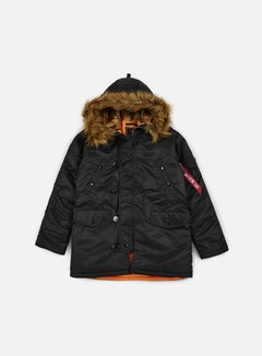 Alpha Industries - N3B VF 59 Flight Jacket, Black