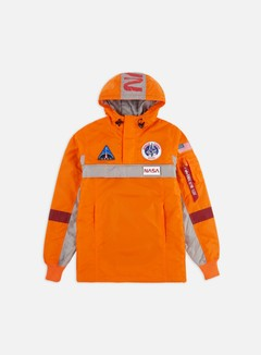 Alpha Industries - Space Camp Anorak Jacket, Alpha Orange