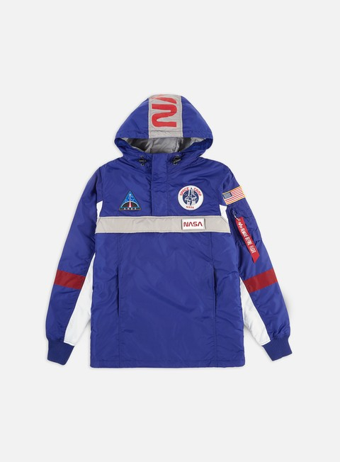 Giacche Intermedie Alpha Industries Space Camp Anorak Jacket