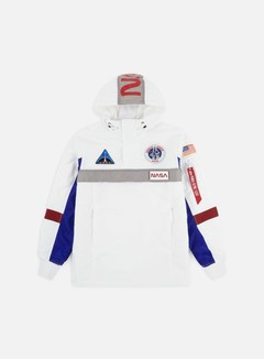 Alpha Industries - Space Camp Anorak Jacket, White