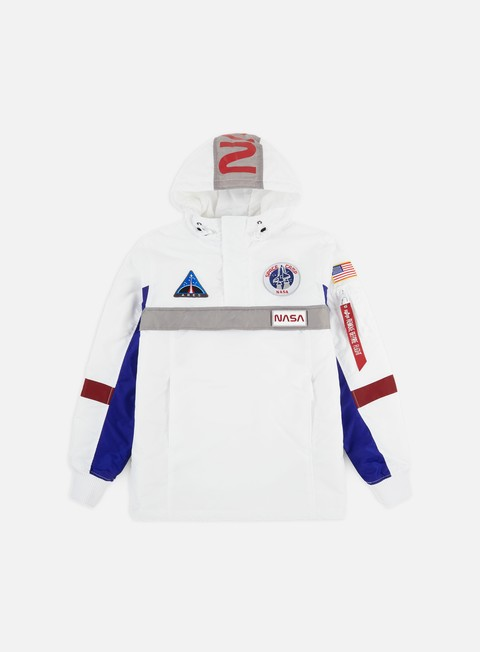 Outlet e Saldi Giacche Intermedie Alpha Industries Space Camp Anorak Jacket